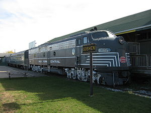 Atlas Shrugged - Rand studied operations of the New York Central Railroad as research for the story.