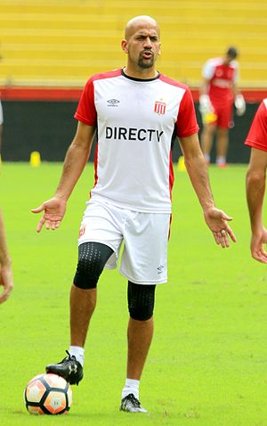 Juan Sebastián Verón - Verón with Estudiantes in 2017
