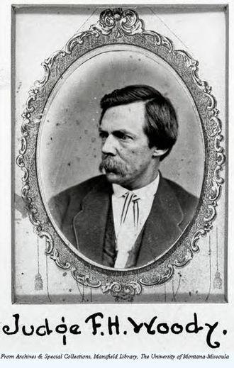Frank H. Woody - Image: Judge Frank H Woody