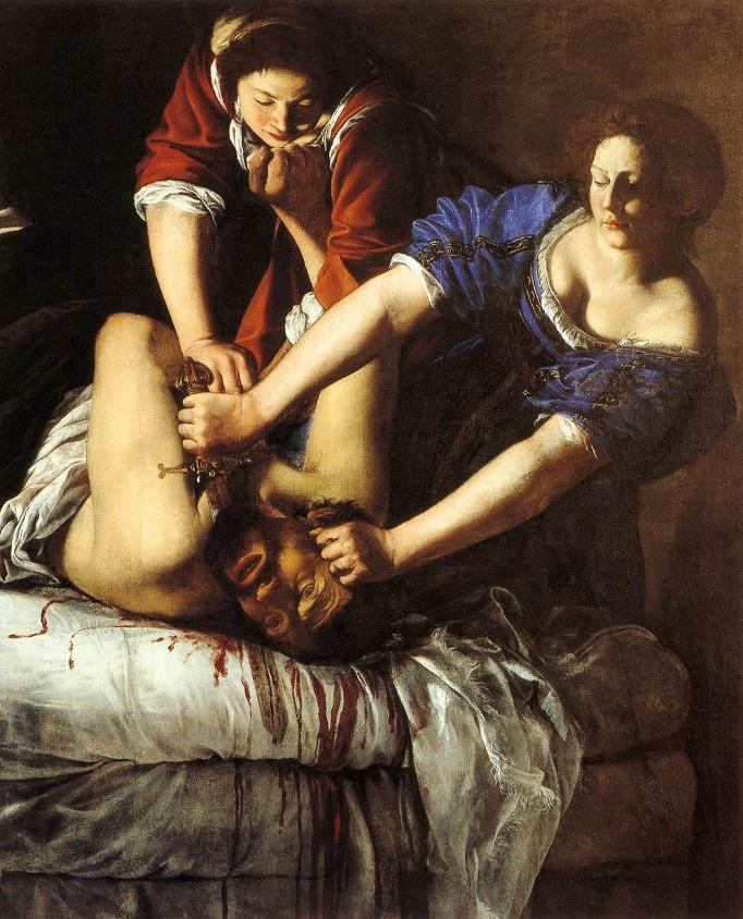 Judith decapitando Holofernes