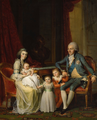Juel, Jens - Prince Frederick of Denmark with his family.png