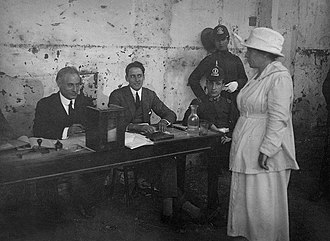 Feminism in Argentina - Feminist activist Julieta Lanteri becoming the first Latin American woman to vote in 1911.