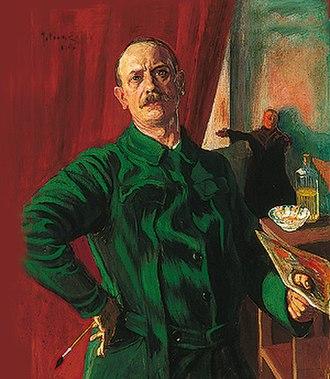 Julius Exter - Self-portrait (date unknown)