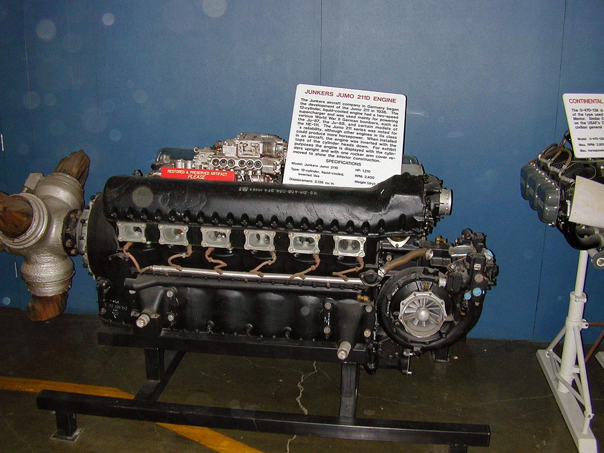 Junkers Jumo 211 - Wikipedia