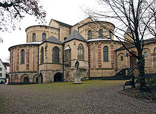 St. Maria im Kapitol romanesque church in Cologne, Germany