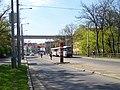 Křesomyslova, zastávka Divadlo Na Fidlovačce, Nuselský most.jpg