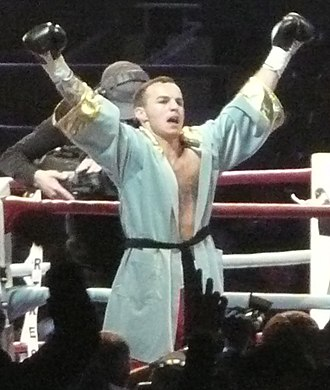 Kevin Mitchell (boxer) - Image: K mitchell 2010