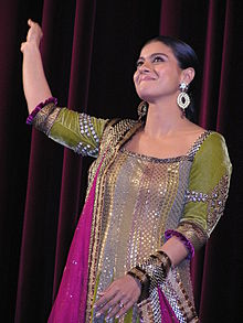 A picture of Kajol, looking away from the camera.