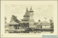 KITLV - 37400 - Demmeni, J. - Tulp, De - Haarlem - Mosque with minaret and sacred pond at Taluk at Fort de Kock (Bukittinggi) - 1911.tif