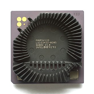 Pentium OverDrive - Pentium Overdrive for Socket 4 without fan