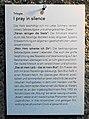 KUNSTradln Millstatt - I pray in silence - Stift Millstatt, Kärnten.jpg