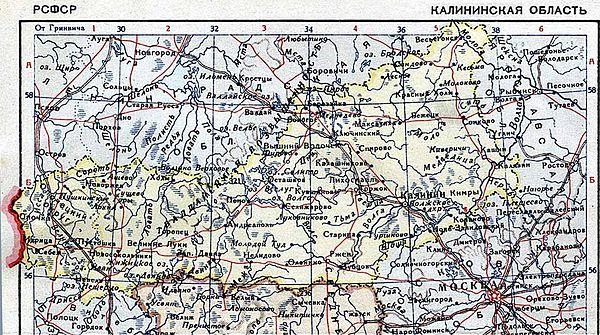 карта тверской области 44 года ответы волнующие вопросы
