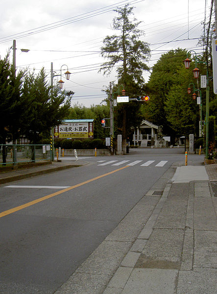 ファイル:Kanagawa prefectural road route 42 and 407 jct.jpg