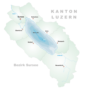 Image illustrative de l'article Lac de Sempach
