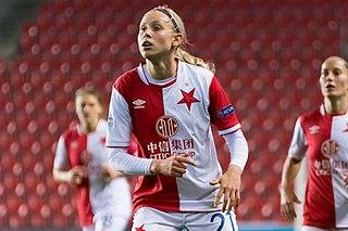 Kateřina Svitková Czech footballer