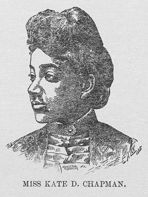 Katherine D. Tillman - Tillman in 1891