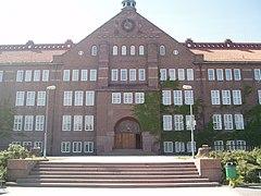 Katedralskolen, Linköping, eksteriørbillede.   JPG
