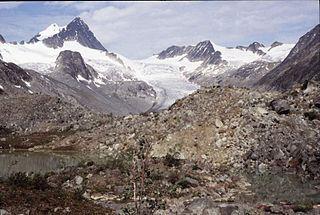 Keele Peak mountain in Canada