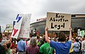 "Keep Abortion Legal - Protest against Focus on the Family's ""Stand for the Family"" event (15188351973).jpg"