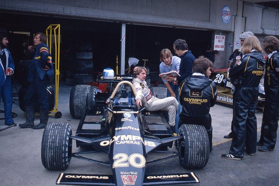 Keke Rosberg 1979 Imola