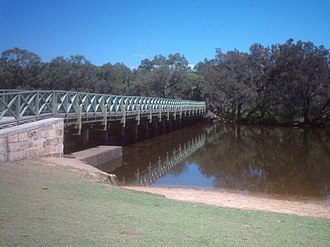 Cannington, Western Australia - Kent Street Weir.