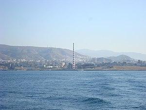 Keratsini - View of Keratsini electricity factory, in Piraeus