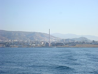Keratsini - View of Keratsini electricity factory, in Piraeus