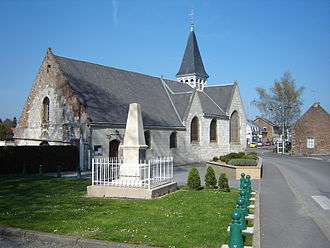 Homblières - The church of Homblières