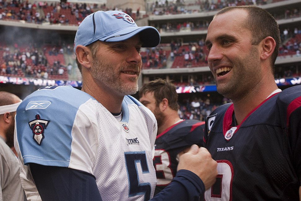 Kerry Collins and Matt Schaub