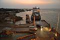 Khan Jahan Ali - IMO 8700917 - Inland RORO Cargo Ship - Daulatdia Ferry Jetty - River Padma - Rajbari 2015-05-29 1413.JPG