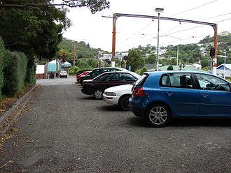 Khandallah railway station - Station car park.