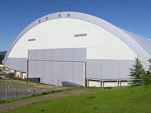Kibbie Dome - Image: Kibbiedome