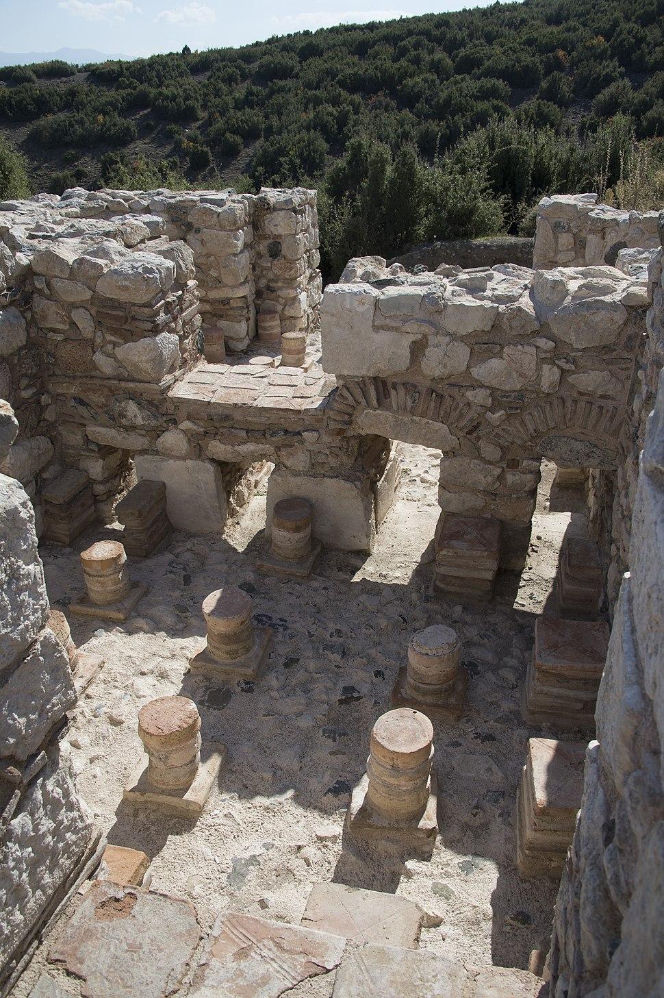 Kibyra Odeon Roman bath 9928