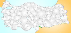 Kilis Turkey Provinces locator.jpg