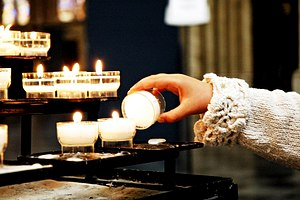 Anglican devotions - The lighting of a votive candle