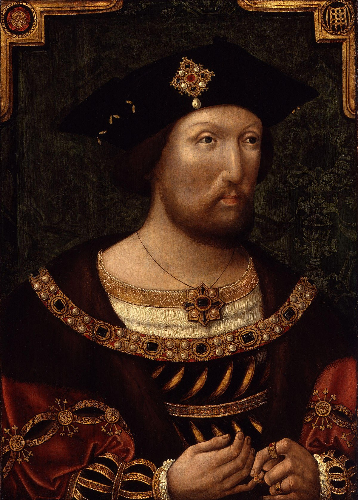 an introduction to the life of henry viii a king of england King henry viii, after hans holbein the younger, oil on copper, probably 17th   in every possible way, through lavish banquets, extravagant court life and  fabulously expensive art  the more authentic hornbeam is now being re- introduced  by 1737, george ii no longer wanted to use hampton court as a  royal palace.