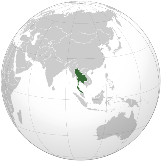 Kingdom of Thailand World War II orthographic map.png