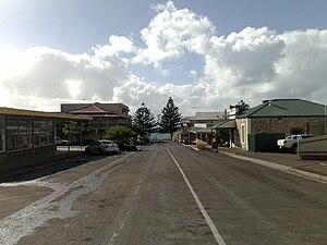 Kingscote, South Australia - Image: Kingscote, South Australia main street