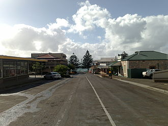 Kingscote, South Australia - Image: Kingscote, South Australia main street