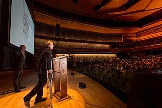 Kingston Canadian Film Festival - Blaine Allan (Chair) and Brigitte Berman at KCFF '17 opening night