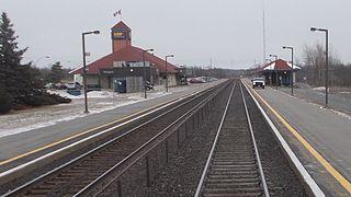 Kingston station (Ontario) Railway station for Kingston, Ontario, Canada