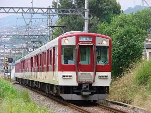 Ikoma Line - 1020 series EMU on a one-manned Local train