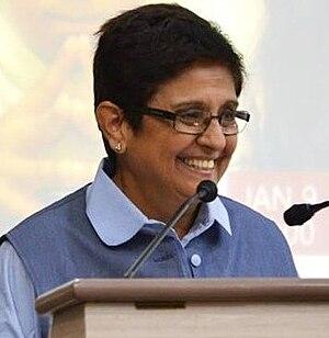 Delhi Legislative Assembly election, 2015 - Image: Kiran Bedi, Lec Dems cropped