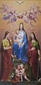 Kirche St. Vitus. Madonna mit den Hll. Barbara und Katharina von Alexandrien 01. von Josef Arnold sen..jpg