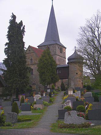 Mainleus - Church and cemetery of Veitlahm