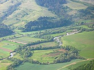 Sângeorgiu de Pădure - Landscape near the town