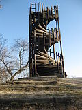 Observation tower in Hárshegy, Budapest