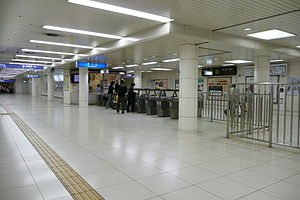 Kitasinchi station east gate.jpg