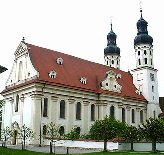 Marchtal Abbey - Minster church, Marchtal Abbey