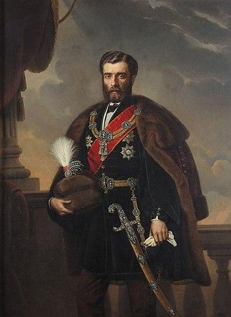 Mihailo Obrenović - Image: Knez Mihajlo III Obrenovic